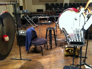 Percussion for Pagliacci