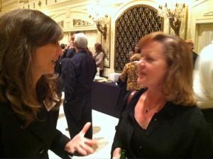 Maureen Byrne (left) and Becky Boyer Hall