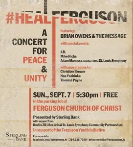 Brian's Concert Invite