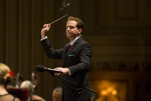 "Steven Jarvi conducts this weekend's concerts featuring Vivaldi's ""The Four Seasons."" Photo: Dilip Vishwanat"