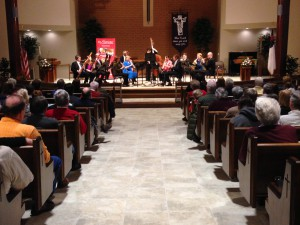 Dvorak's Serenade at Peace Lutheran