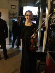 Hava Polinsky performed Mendelssohn's Violin Concerto.