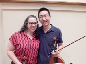 Beth Guterman Chu and Jonathan Chu are part of the Symphony string sextet playing Tchaikovsky at Symphony Where You Worship concerts this week.