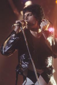 Freddie Mercury. Photo credit: Carl Lender