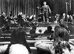 Leonard Bernstein teaches music appreciation on American television. This really happened.