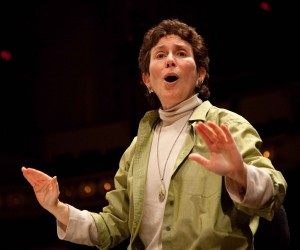 Amy Kaiser heads into season 21 leading the St. Louis Symphony Chorus in 1516. Photo credit: Gerry Love