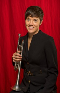 "Karin Bliznik opens Mahler's Symphony No. 5 with her trumpet solo, a highlight of this ""trumpet interesting"" season."