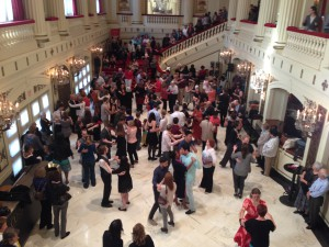 Tango party at Powell Hall