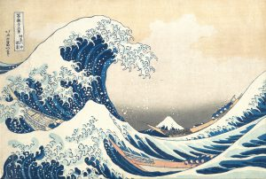 """The Hollow of the Wave off Kanagawa"" by Hosukai"