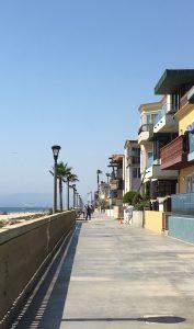 California beachfront