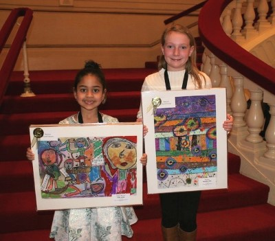 2020 SLSO Picture the Music Maestro Winners Sofia Jamal and Madelyn Fries