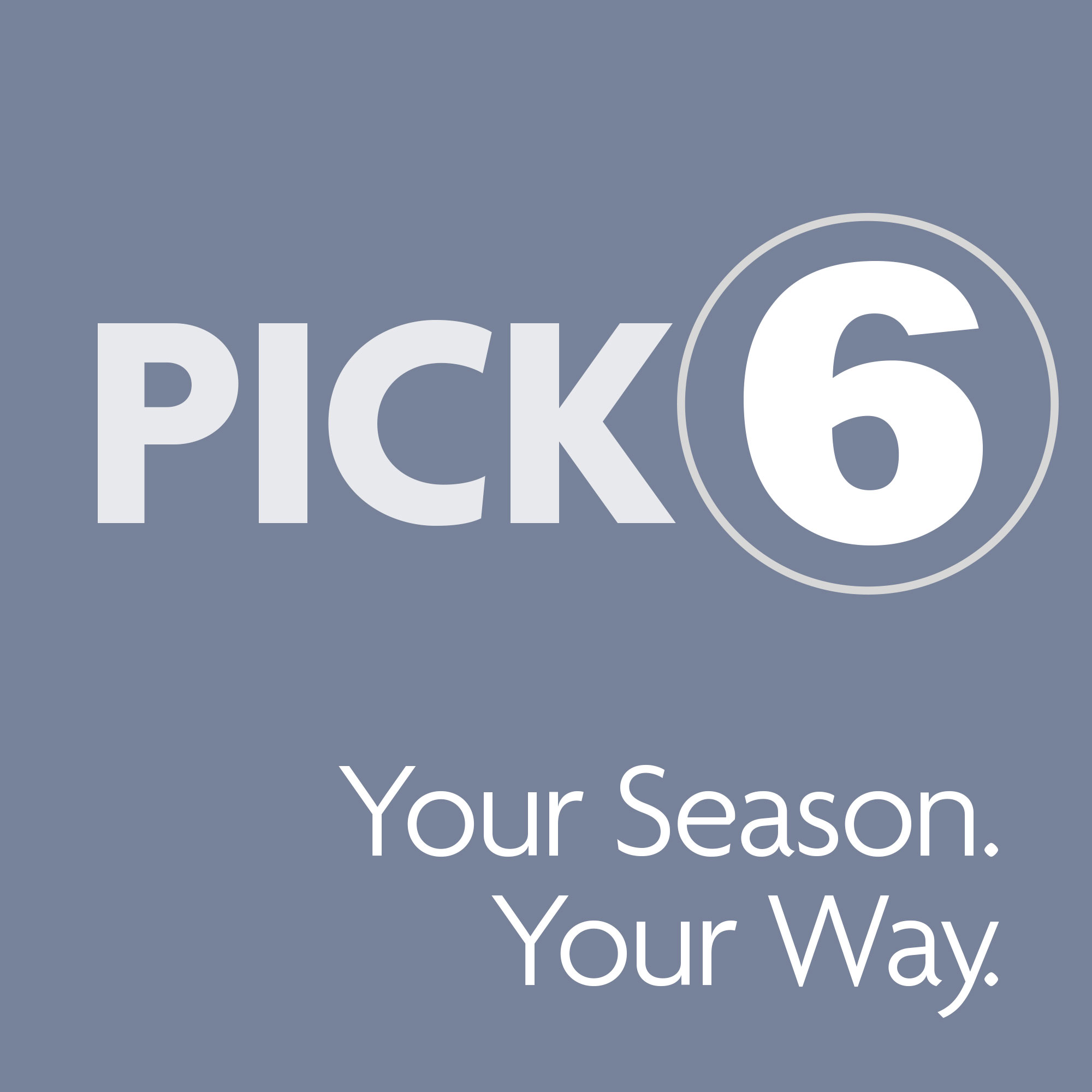 Pick 6 or More Logo