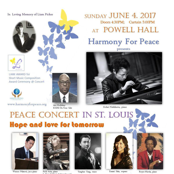 Peace Concert in St. Louis: Hope and Love for Tomorrow
