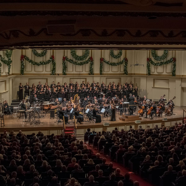 Bach Society of Saint Louis Christmas Candlelight Concert