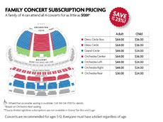 View Seating and Pricing Chart